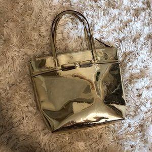 Kate Spade Gold Metallic purse